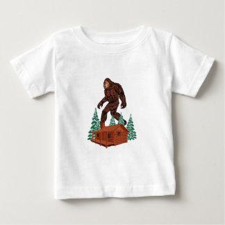 Camiseta Para Bebê Paraíso de Bigfoot