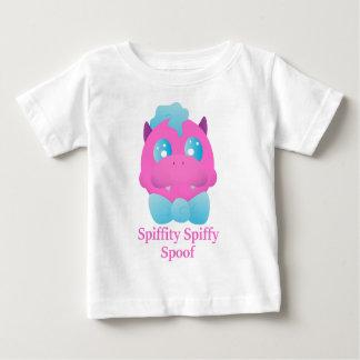 Camiseta Para Bebê Paródia Spiffy de Spiffity o dragão