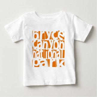 Camiseta Para Bebê Parque nacional da garganta de Bryce