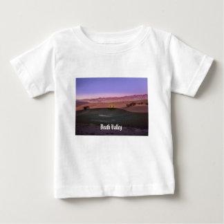 Camiseta Para Bebê Parque nacional de Vale da Morte do nascer do sol