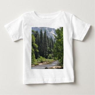 Camiseta Para Bebê Parque nacional de Yosemite