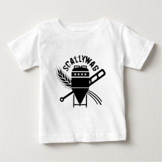 Camiseta Para Bebê Parte dianteira do logotipo da fabricação de