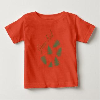 Camiseta Para Bebê Parte superior afortunada do t-shirt do bebê da