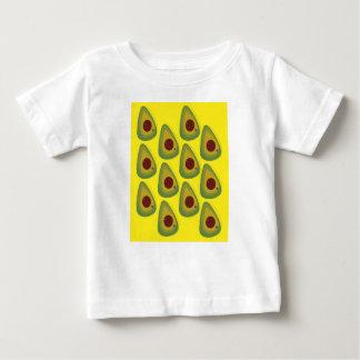 Camiseta Para Bebê Partes do ouro dos abacates do design