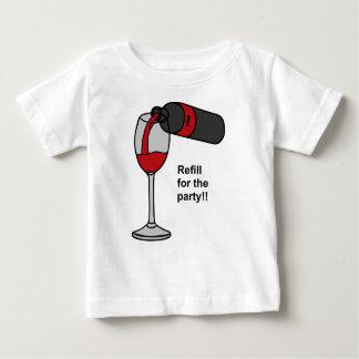 Camiseta Para Bebê partido