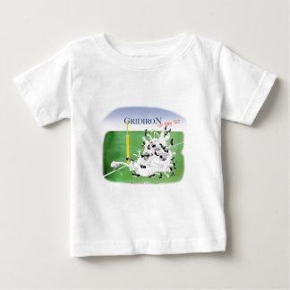 Camiseta Para Bebê Passagem de mary da saraiva da grelha, fernandes