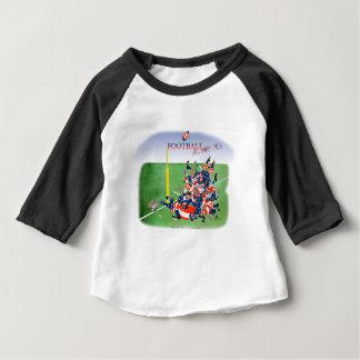Camiseta Para Bebê Passagem de mary da saraiva dos EUA, fernandes