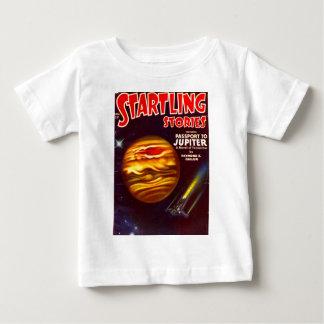 Camiseta Para Bebê Passaporte a Jupiter