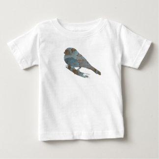 Camiseta Para Bebê Passarinho