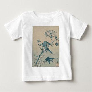 Camiseta Para Bebê Pássaro azul