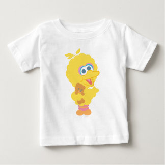 Camiseta Para Bebê Pássaro grande que guardara o urso de ursinho