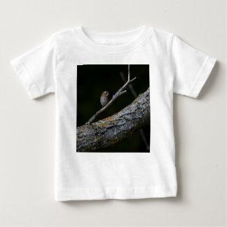 Camiseta Para Bebê Pássaro pequeno