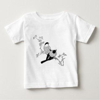 Camiseta Para Bebê Pássaros