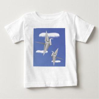 Camiseta Para Bebê pássaros 78Paper _rasterized