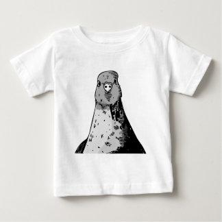 Camiseta Para Bebê Pássaros mudos