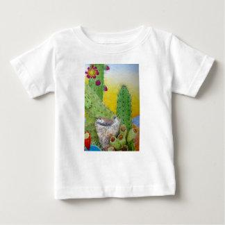 Camiseta Para Bebê Pássaros no deserto