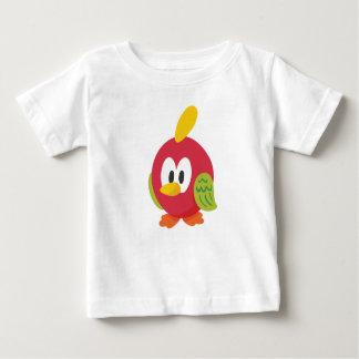Camiseta Para Bebê passeio de fala do pássaro