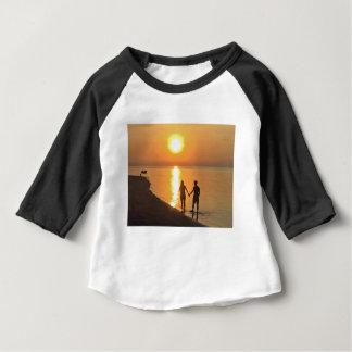 Camiseta Para Bebê Passeio na praia