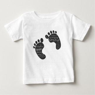 Camiseta Para Bebê Passos