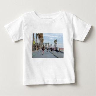 Camiseta Para Bebê patinagem à praia de Veneza