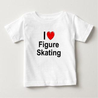 Camiseta Para Bebê Patinagem artística