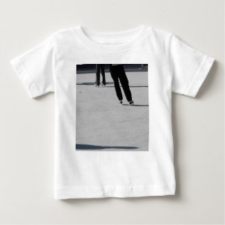 Camiseta Para Bebê Patinagem no gelo