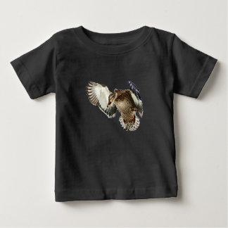 Camiseta Para Bebê Pato em vôo