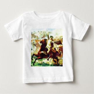 Camiseta Para Bebê Patriota de galope
