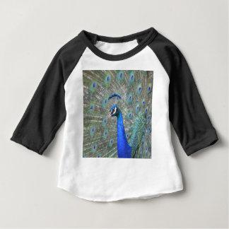Camiseta Para Bebê Pavão