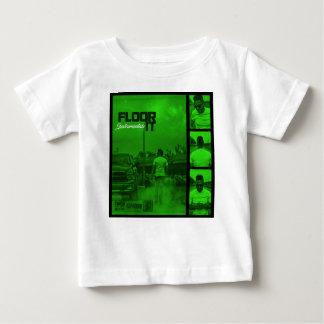 Camiseta Para Bebê Pavimente-o cobrir dos Instrumentals