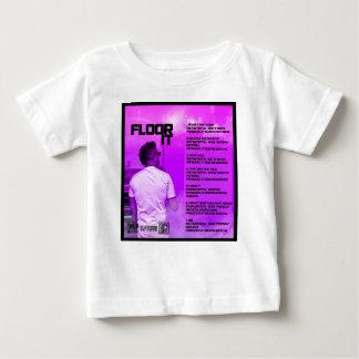 Camiseta Para Bebê Pavimente-o reverso