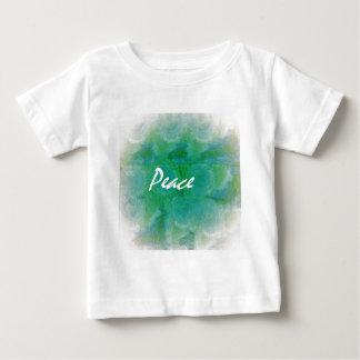 Camiseta Para Bebê Paz