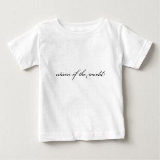 Camiseta Para Bebê PAZ do cidadão
