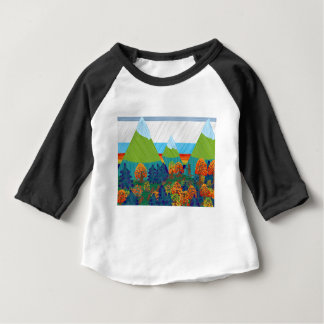 Camiseta Para Bebê Pé grande