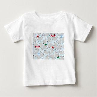 Camiseta Para Bebê peixe-boi do Natal