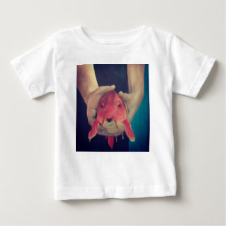 Camiseta Para Bebê Peixes abstratos