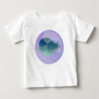 Camiseta Para Bebê Peixes da bolha
