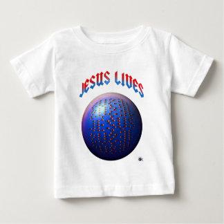 Camiseta Para Bebê peixes OI de jesus