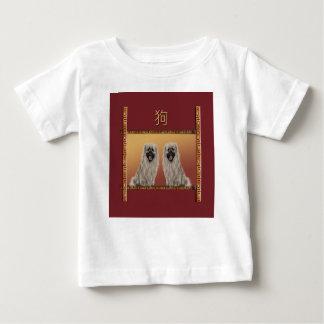 Camiseta Para Bebê Pekingese no ano novo chinês do design asiático,