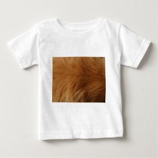 Camiseta Para Bebê Pele do golden retriever
