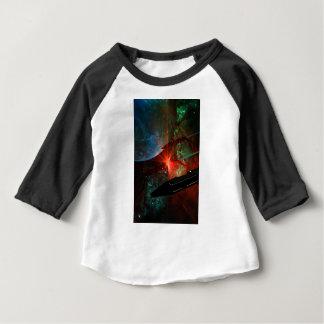 Camiseta Para Bebê Pelotão do navio de espaço