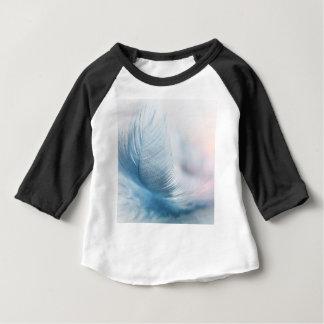 Camiseta Para Bebê Pena