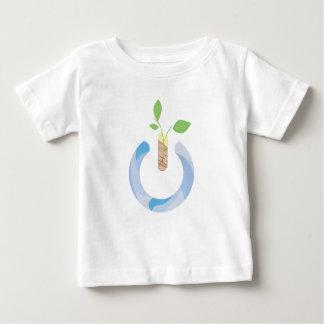 Camiseta Para Bebê Pense o poder