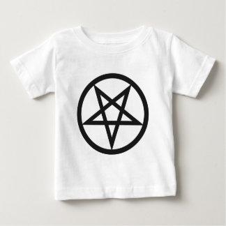 Camiseta Para Bebê Pentagram corajoso