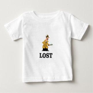 Camiseta Para Bebê perdido algo