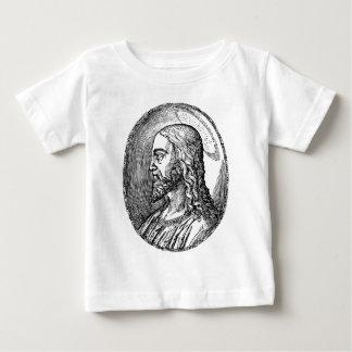 Camiseta Para Bebê Perfil do Jesus Cristo