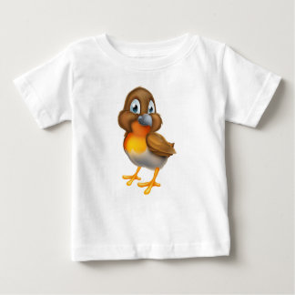 Camiseta Para Bebê Personagem de desenho animado do pássaro do pisco