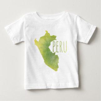 Camiseta Para Bebê Peru