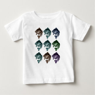 Camiseta Para Bebê Pesca da perda