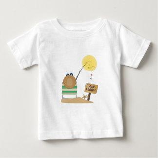 Camiseta Para Bebê Pesca ida